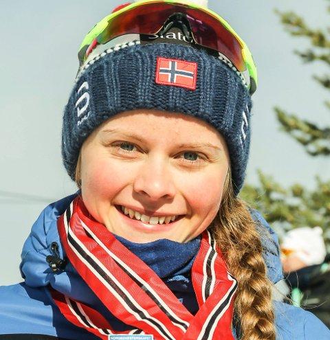 Mathilde Myhrvold var bare to tideler fra seieren i norgescupfinalen for junior i Alta.