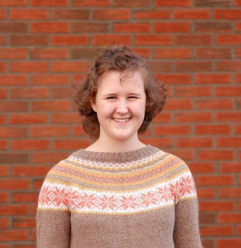 MOBILISERER:Fylkesleder Maja Angeltveit fra Larvik, her fra landsmtet til Natur og Ungdom i januar, håper ikke klimadebatten blir borte i Korona-tiden.