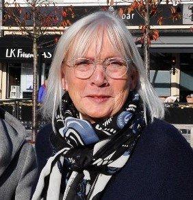 LEDER: Liv Margit Karto er leder av forliksrådet i Sandefjord. Hun har måttet sette mange saker på hold på grunn av koronaviruset.