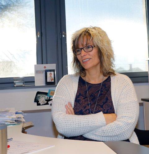 FÆRRE LEDIGE: Leder for NAV Marked Nord-Rogaland, Elisabeth Lie Nilsen, kan rapportere om 365 færre helt ledige i vår region i april.