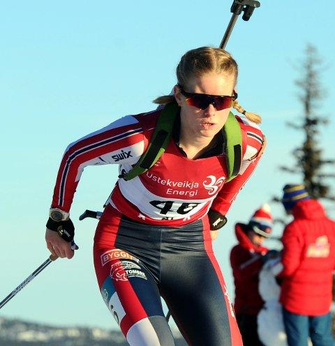 Ragnhild Femsteinevik håpar på landslagsplass og hundre prosent fokus på idretten inn mot kommande sesong. (Arkivfoto).