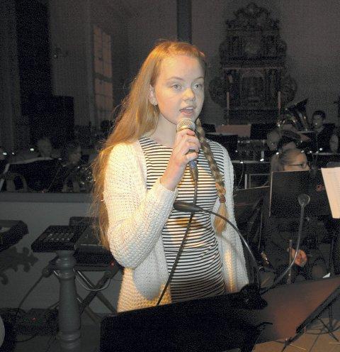 Imponerte: Asborg Ellingvåg og Averøy Ungdomskorps fikk det til å svinge med Carola-låta «Himlen i min favn».