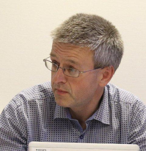GJERSTAD: Økonomisjef Espen Grimsland.