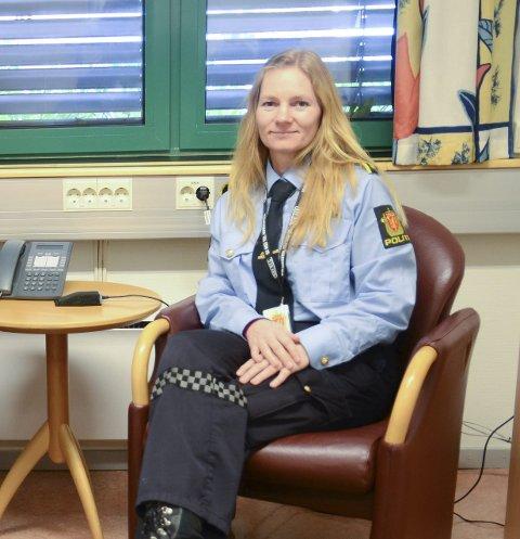Politioverbetjent Bodil S. Nakkerud er fagleiar for seksuelle overgrep i Hardanger lensmannsdistrikt.