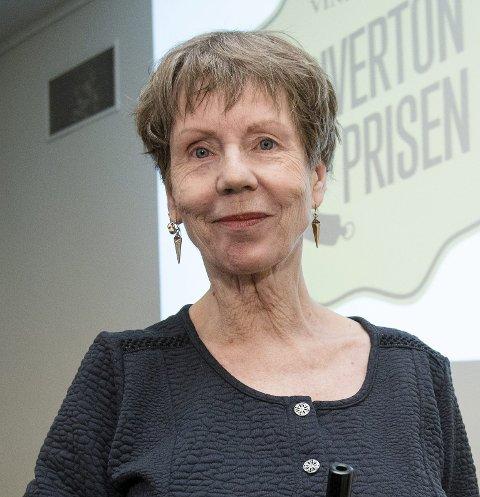KOMMER TIL KARMØY: Karin Fossum.
