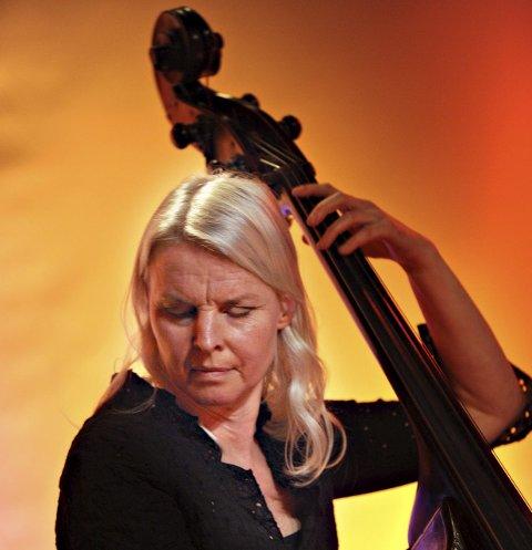 Bassist: Tine Amundsen er klar for EnergiMølla.