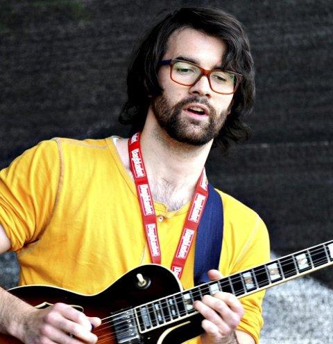 KOMMER 1: Magnus Grimnes spiller i bandet Kiap.
