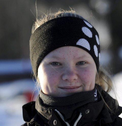 VANT: Camilla Hvammen gikk til topps i junior B-klassen.