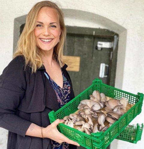 Ingrid Sandvik jobber med salg og markedsføring for familiebedriften.