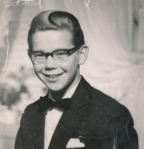 1959: Bondesonen Sylfest Lomheim (14) var konfirmant og ville ut i verda.