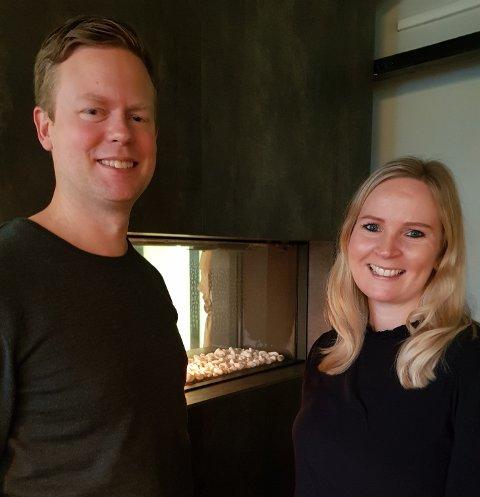 NYTT TILBUD: Kristian og Heidi Bull-Varn tar nye grep for å sikre videre utvikling og fornying av Sjøloftet.