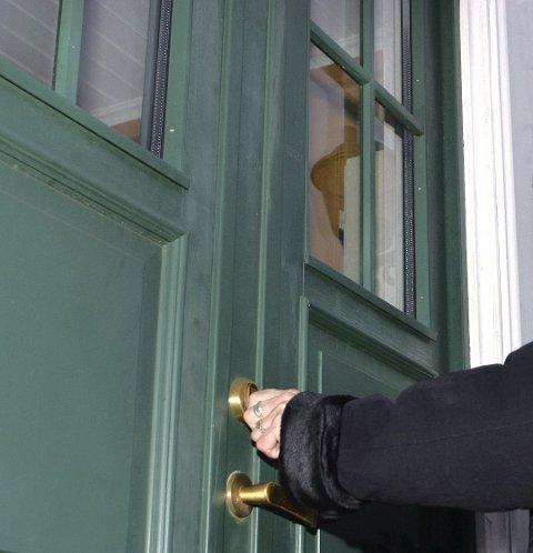 Låsen i huset var skiftet ut da kvinnen skulle hente eiendelene sine. Illustrasjonsfoto: NTB