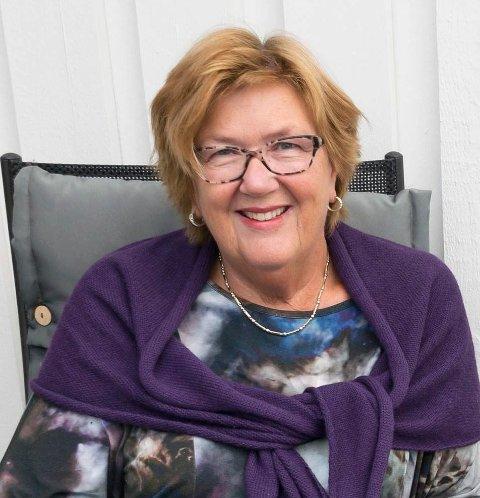 KOMMER: Berit Brørby.