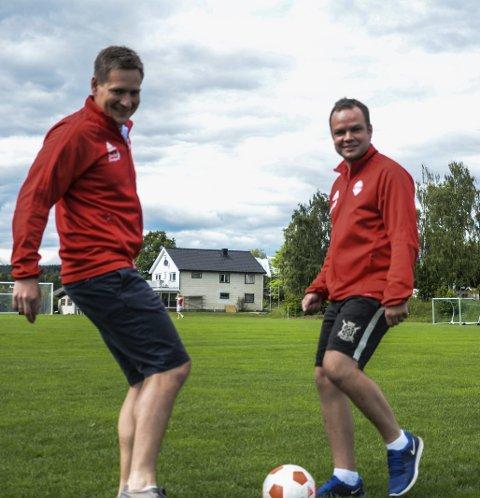 Byr opp til dans: Ståle Bakke og Håkon Taskerud har tatt initiativet til RM for seniorlag som arrangeres på Stavsjø kommende lørdag.