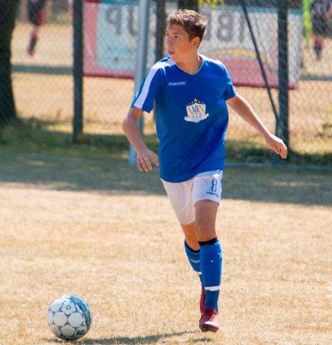 TALENT: 14-åringen Sander Mala spiler på gutter-19 HBK.