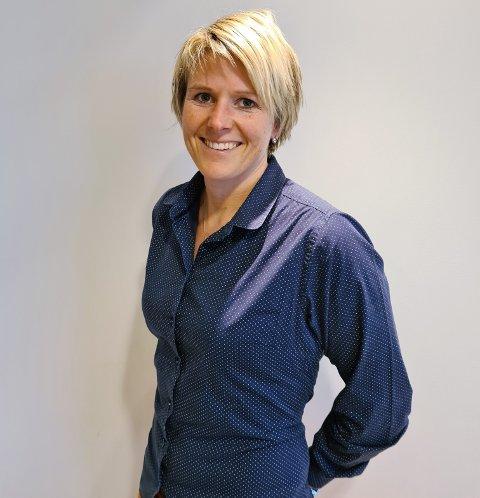 GRIPER MULIGHETEN: - Jeg takker for tilliten og gleder meg til rollen, sier Christine Næss Mathiesen, styreleder i Ringerikskraft Nett.