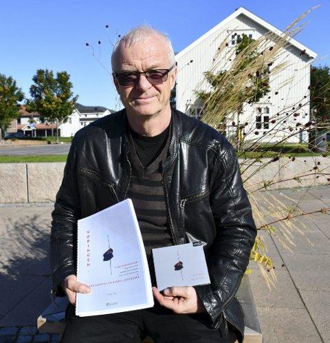 Spiller opp: Bjørn Luksengård presenterer egne komposisjoner i Sande kirke neste uke. FOTO: INGUNN HÅKESTAD BRÅTHEN