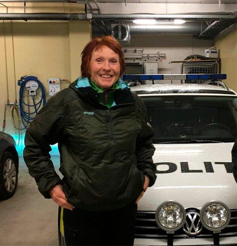 GODE ARGUMENTER: Ordfører i Kongsberg, Kari Anne Sand, mener å ha gode argumenter og forteller om bred støtte når Kongsberg kommune forbereder grunnen for politihøyskolen.