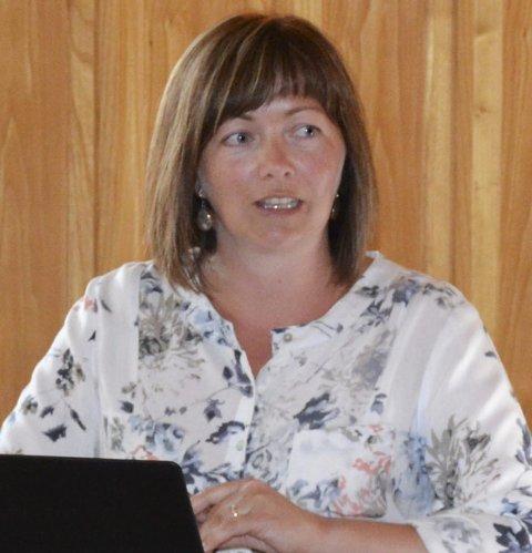 Entusiastisk: Vegårshei-ordfører Kirsten Helen Myren (Sp) har store forventninger.