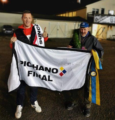 Valle Hugo vant både forsøk og finale i Pichano-løpet på Bergsåker fredag. Den 4-årige vallaken til Helge Gunnar Søberg kunne dermed innkassere 105 000 svenske kroner på kontoen denne kvelden.
