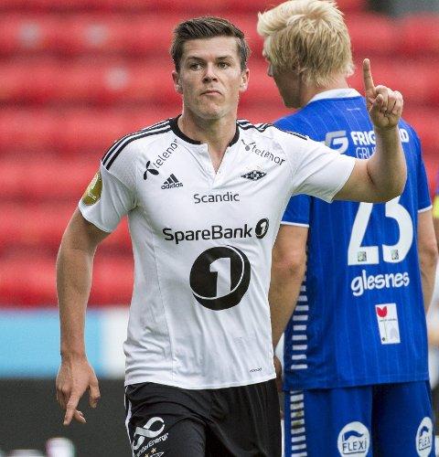 Se opp for: Pål Andre Helland. I form er trønderen eliteseriens beste angrepsspiller. Han har scoret tre mål på 13 kamper.Foto: Ned aLley