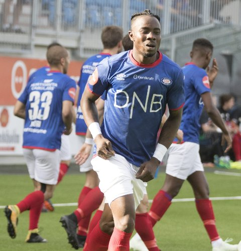 Sam Johnson. Vålerenga vinner «alltid» når den 24 år gamle spissen scorer mål.