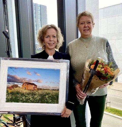 Gjev pris: Lill Anita Fygle mottok denne uken prisen som årets sykepleier 2021.