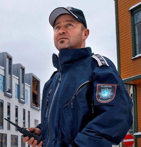 Brannsjef i Gjøvik Jan Tore Karlsen opplever også en økning i antall helseoppdrag.