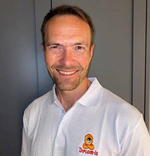 NY DIREKTØR: Martin Kjekshus (44) tar over som administrerende direktør i Diplom Is.