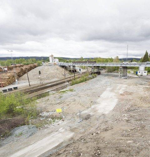 IKKE AKTUELT: Kommunen vil absolutt ikke ha togparkering på Norsenga.