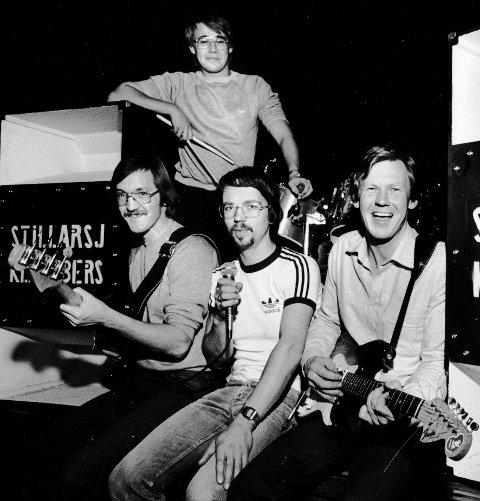 NEDSTØVET: Tapen som Kai Tønnessen, Arne Østvang, Knut Bergsløkken og Ove Berg spilte inn tidlig på 80-tallet, kan strømmes fra 6. desember. De byr på Solung-rock.