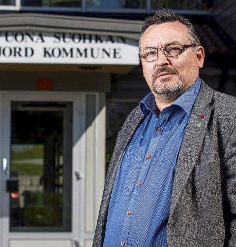 – INGEN AUTOMATIKK: Sps forhandlingsleder Svein Leiros sier det ikke er noen automatikk at de fortsetter samarbeidet med NSR. – For oss er politikken viktigst, ikke posisjoner, sier han til iFinnmark..