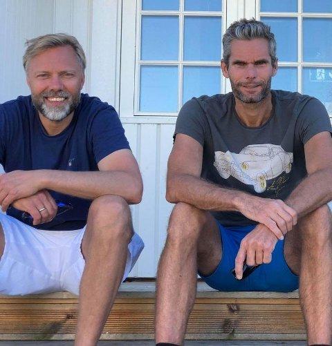Wiggo Dalmo og Thomas Alsgård.