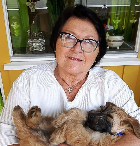 Harriet Volden Pedersen (72) bor på Ebbestad, og svarer på denne ukens 20 kjappe med Svelviksposten.