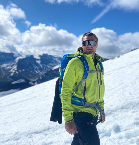 Sprek: Alexander Kondrup på topptur fra Spiterstulen til Galdhøpiggen i fjor sommer.