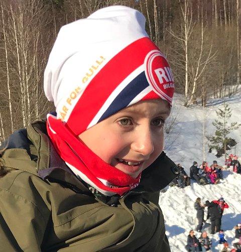 OMKOM: Det var Eirik Møller Johnsen (12) som døde i snøscooterulykken i Modum Skisenter torsdag kveld.