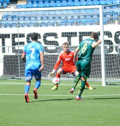 Hermann Rhodén og Drammen FK tapte hele 5-0 borte mot Lørenskog.