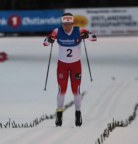 IMPONERTE: Helene Marie Fossesholm imponerte i Scandinavisk Cup i helgen, og er sterk både oppover og nedover.