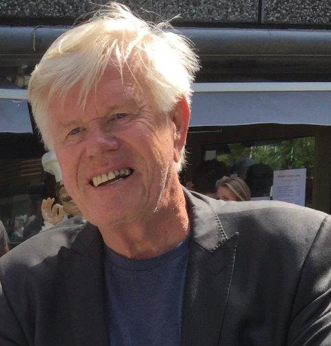DØYDDE I HELGA: Johs B. Thue døydde natt til laurdag, 79 år gamal.