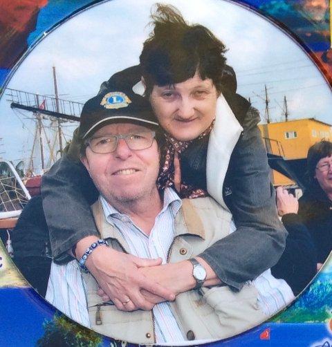 Noralf Falk Rosland og kona Inger-Sofie Vik Rosland meldte seg som frivillige for et par år siden. Det har de ikke angret på.
