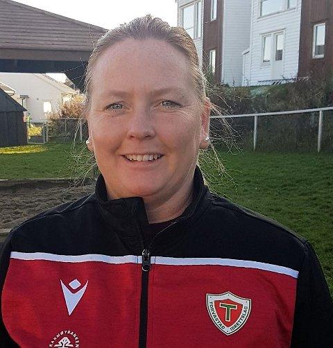 FÅR PRIS: Torvastad-trener Eli Reinertsen.