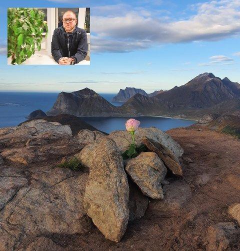 Roy- André Thuv (innfelt) har tatt initiativ til en felles fjelltur til Offersøykammen lørdag.