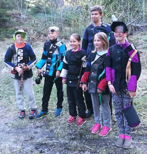 JOBBET BRA: De unge skytterne fra M/V holdt følge med Drøbak/Frogn i lang tid i Follocup.