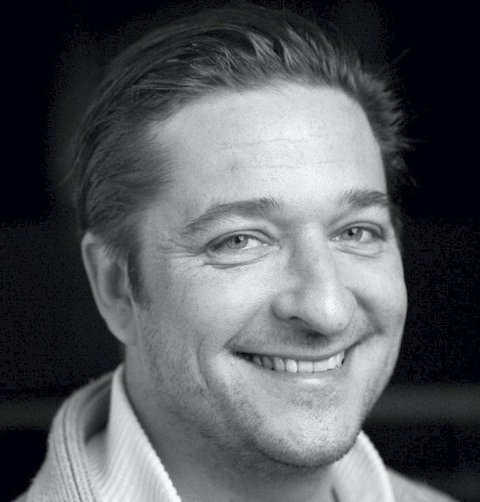 SNART PREMIÈREKLAR: Lokal skuespiller Hans Marius Hoff Mittet. Foto: L-P Lorentz