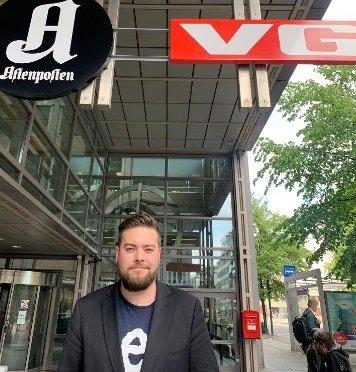-Jeg er glad for all sympati. Men er urolig for fremtiden til både de ansatte og arbeidsplassene, sier Kim Daniel Vorpvik.