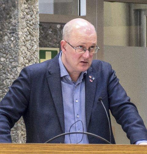 Har mer å gi: Ståle Refstie er motivert for fire nye år som ordfører i Sunndal.