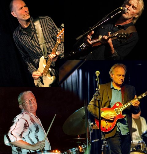 SOMMERKONSERT: Med Bryggerigangen Bluesband på Hadeland Folkemuseum lørdag.