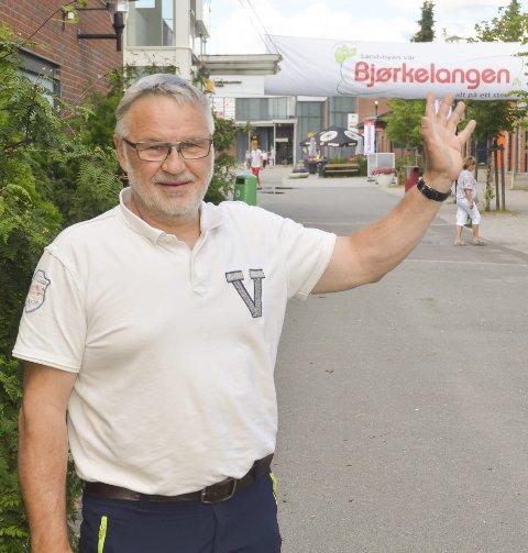 Myte: Det er en myte at det ikke er dugnadsvilje på Bjørkelangen, mener daglig leder Kjell Roar Nygård i BSF. Foto: Roger Ødegård