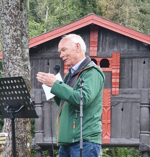 ARRANGEMENT: Per Olaf Lundteigen mener at Hans Nielsen Hauge fortsatt er aktuell.