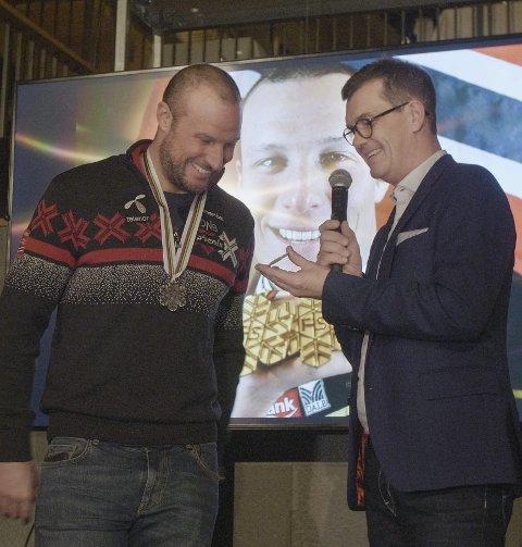 DAGENS NAVN: Petter Svendsen er sponsorsjef i Telenor. Han er gift og har to barn.